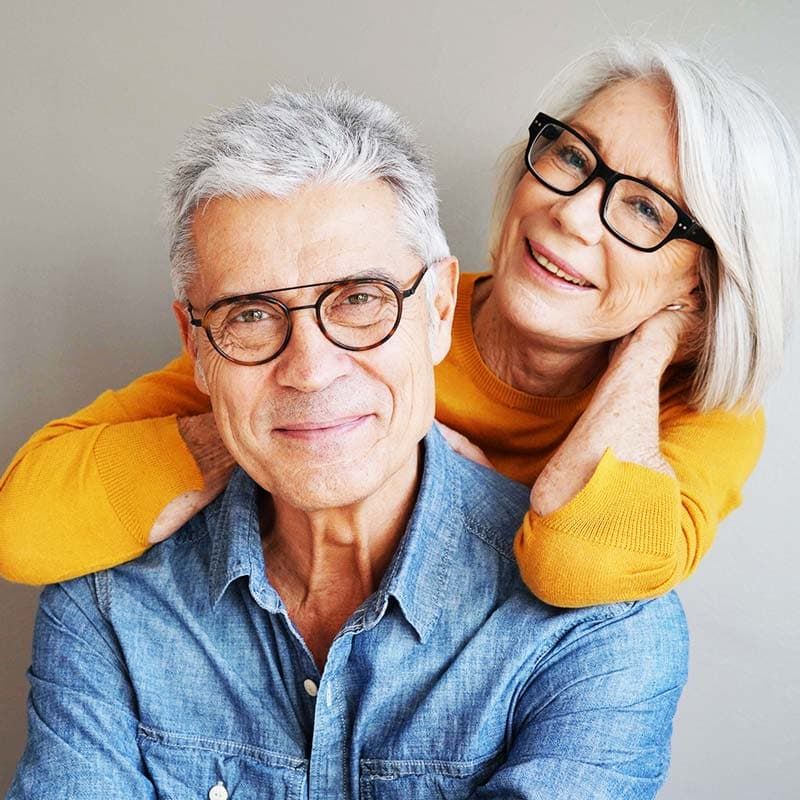 auburn lakes orthodontics spring tx about us happy old couple smiling