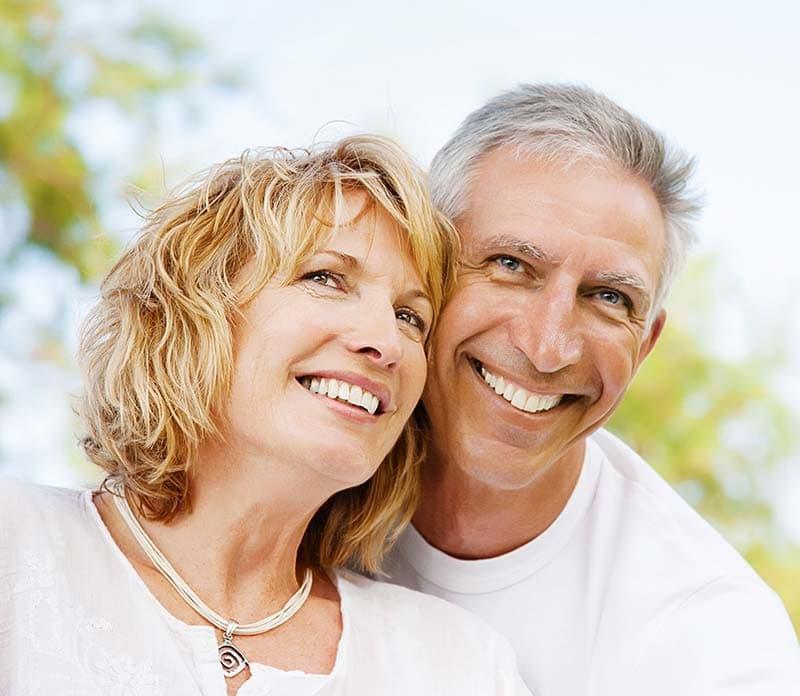 couple smiling and happy visiting auburn lakes orthodontics